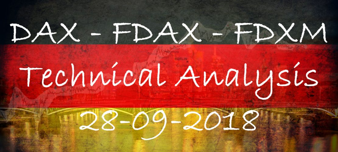 28-09-2018 Dax Technical Analysis