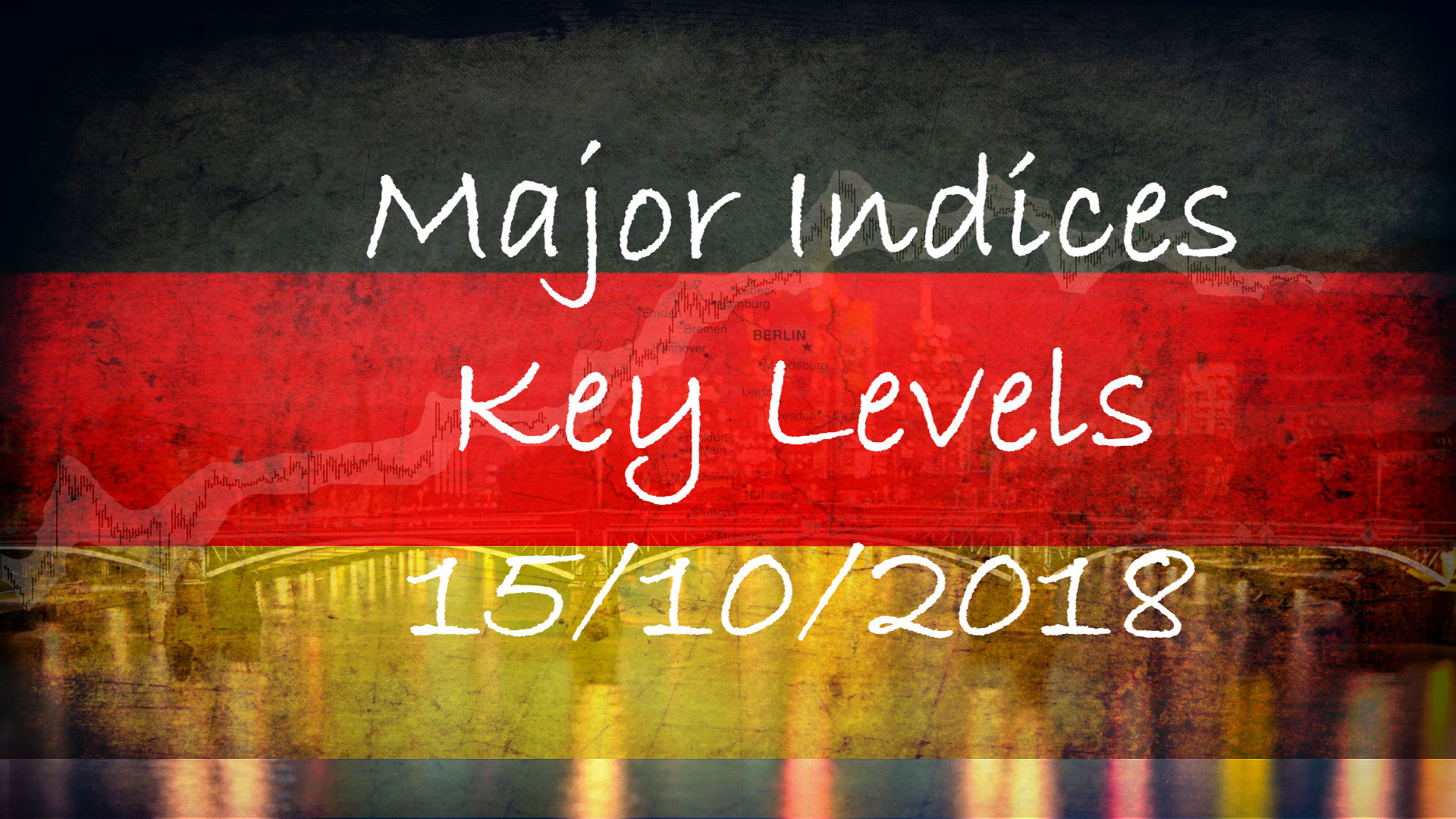 15-10-2018 Dax FTSE DOW EStoxx Key Levels