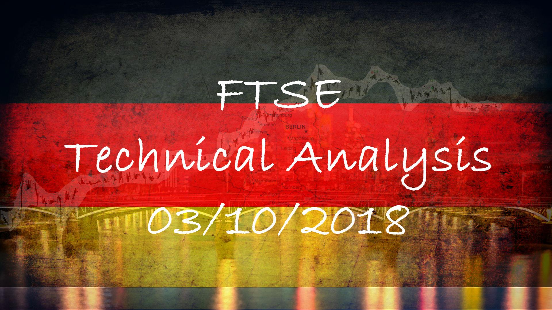 03-10-2018 FTSE Technical Analysis (CFD)