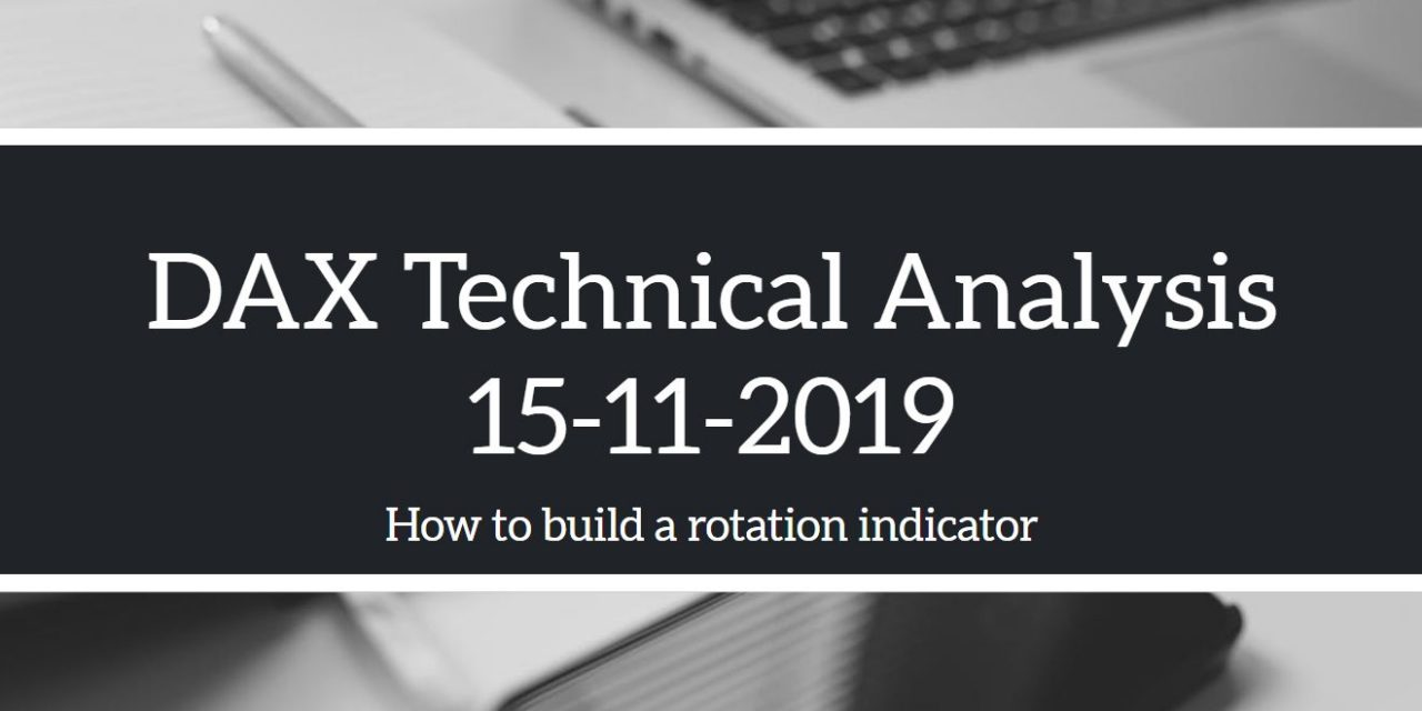 Dax Technical Analysis 15-11-2019 and How To Build A Rotation Indicator