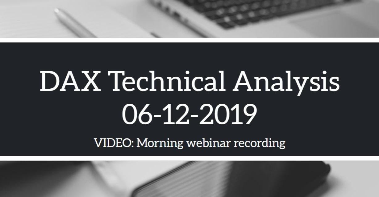 06-12-2019 DAX Analysis | NFP Outlook and Strategy Review