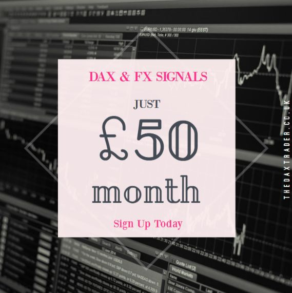 dax and fx signals from the daxtrader
