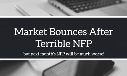Terrible NFP but next month will be worse