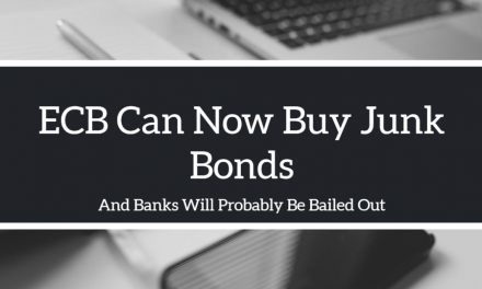 ECB Can Now Buy Junk Bonds!