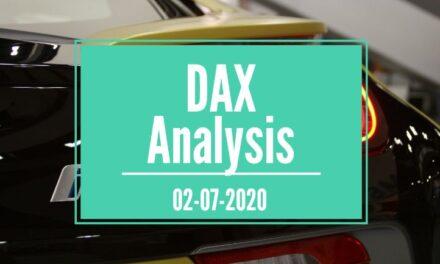 02-07-2020 DAX 30 Analysis
