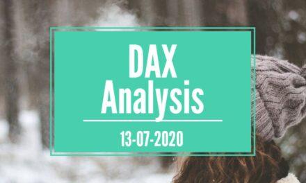13-07-2020 DAX 30 Analysis