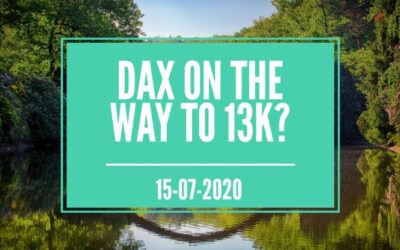 DAX ON THE WAY TO 13k?