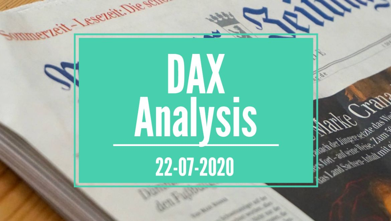 22-07-2020 DAX