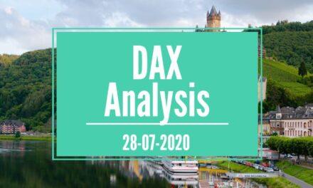 28-07-2020 DAX 30 Analysis