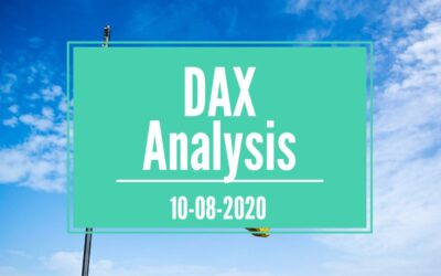THE GERMAN DAX BOUNCE TURNS NEUTRAL