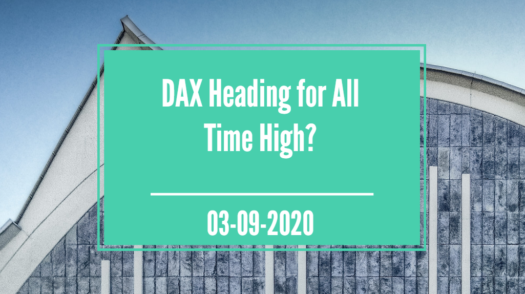 DAX Heading For All Time High?